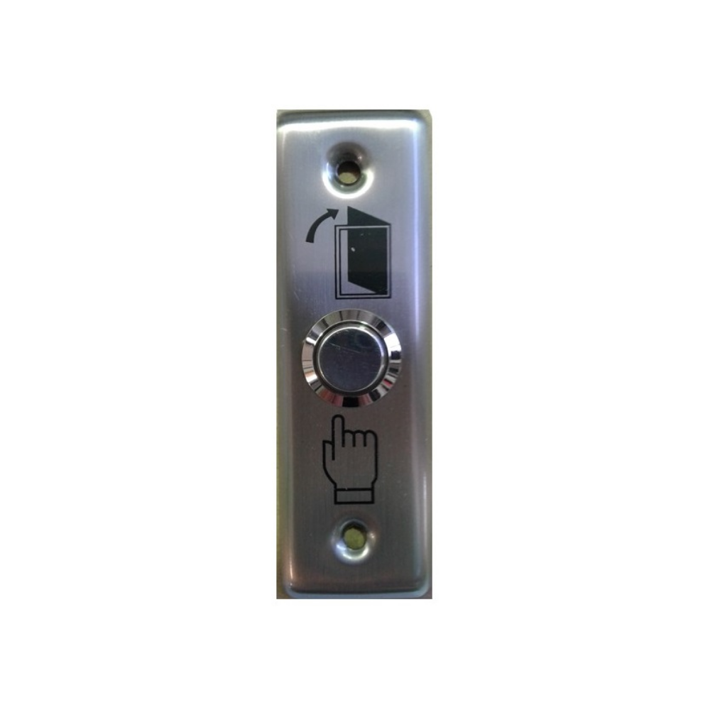SBBT-003 Exit Button Metal Flush (Slim)